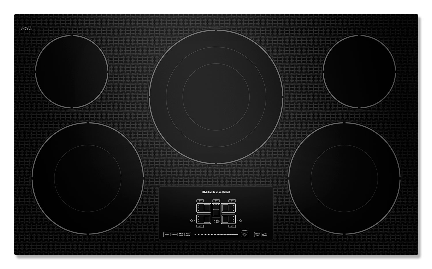 Cooking Products - KitchenAid Electric Cooktop KECC667BBL