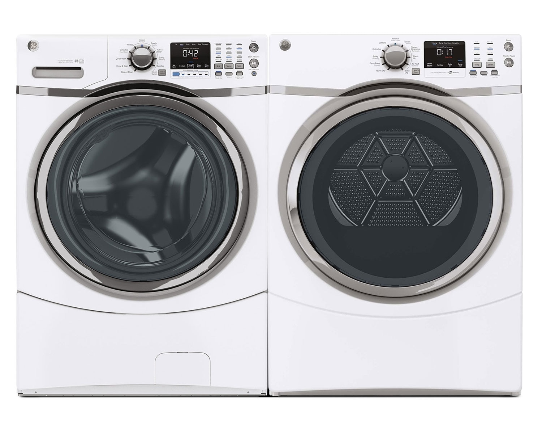 GE Laundry - GFWS1700HWW / GFMS170EHWW / GFMS170GHWW
