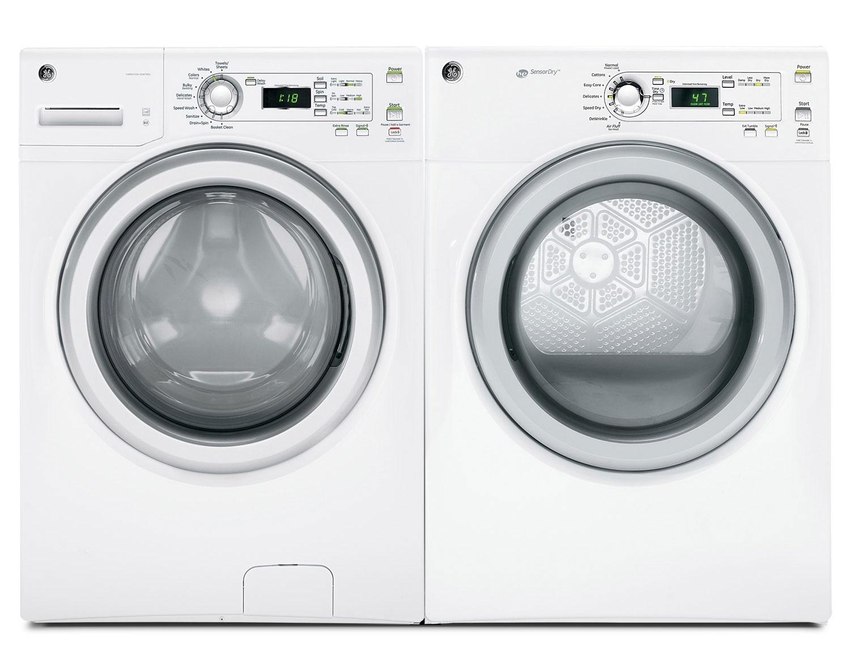 GE Laundry - GFWH1200HWW/GFMN120EDWW