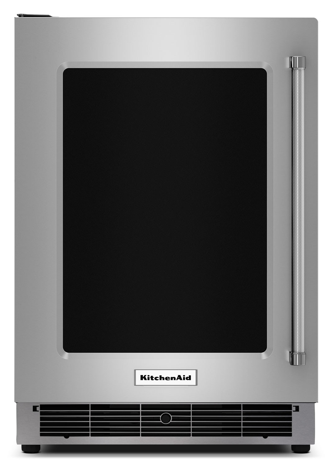 KitchenAid Stainless Steel Undercounter Refrigerator (5.1 Cu. Ft.) w/ Left Swing - KURL304ESS