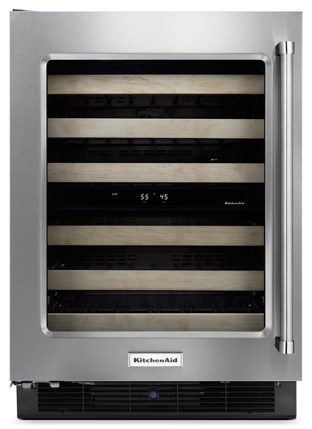 Refrigerators and Freezers - KitchenAid Wine Cooler KUWL204ESB