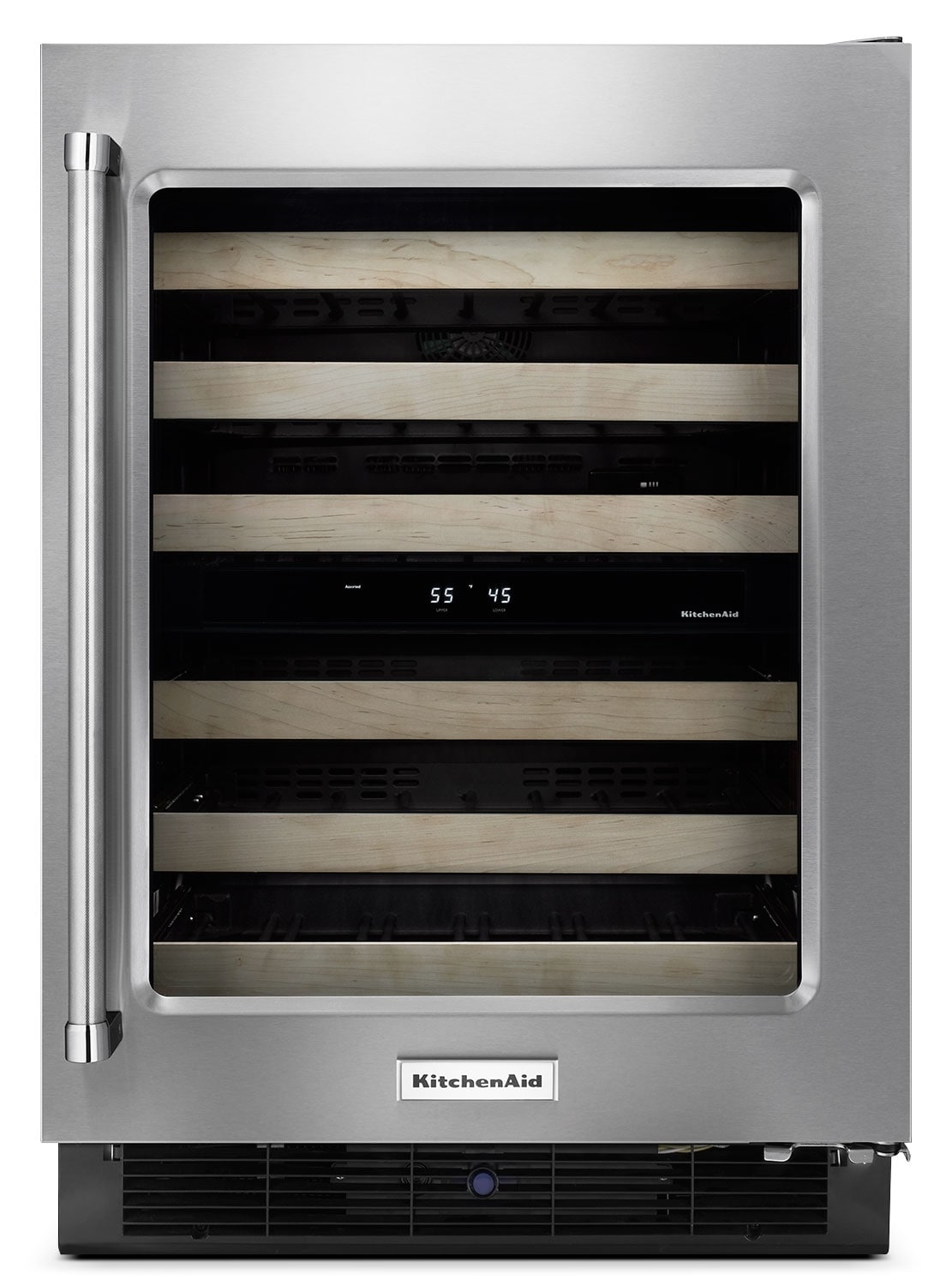 Refrigerators and Freezers - KitchenAid Wine Cooler KUWR204ESB