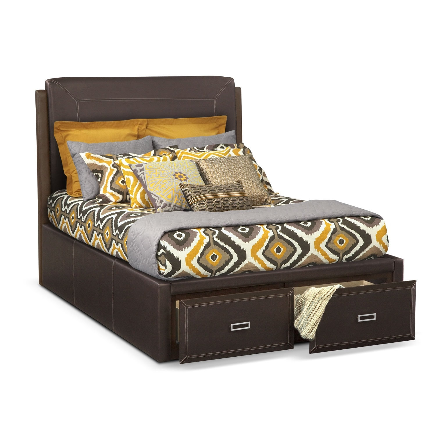 [Mason King Storage Bed]