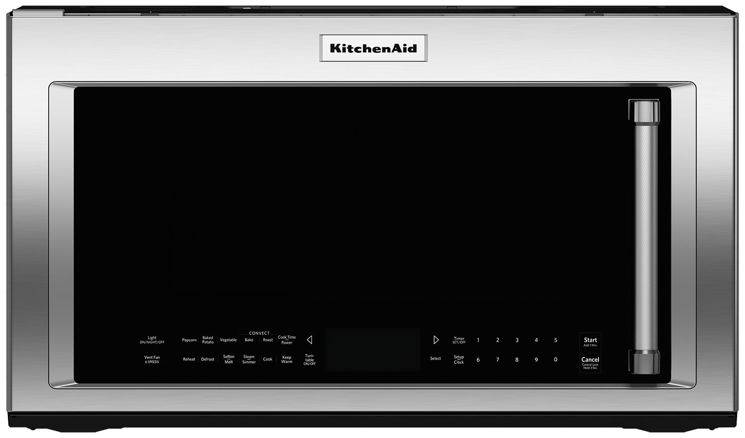 Cooking Products - KitchenAid 1.9 Cu. Ft. Convection Microwave - Stainless Steel