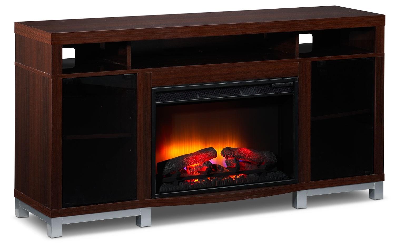 [Roxbury Fireplace TV Stand]