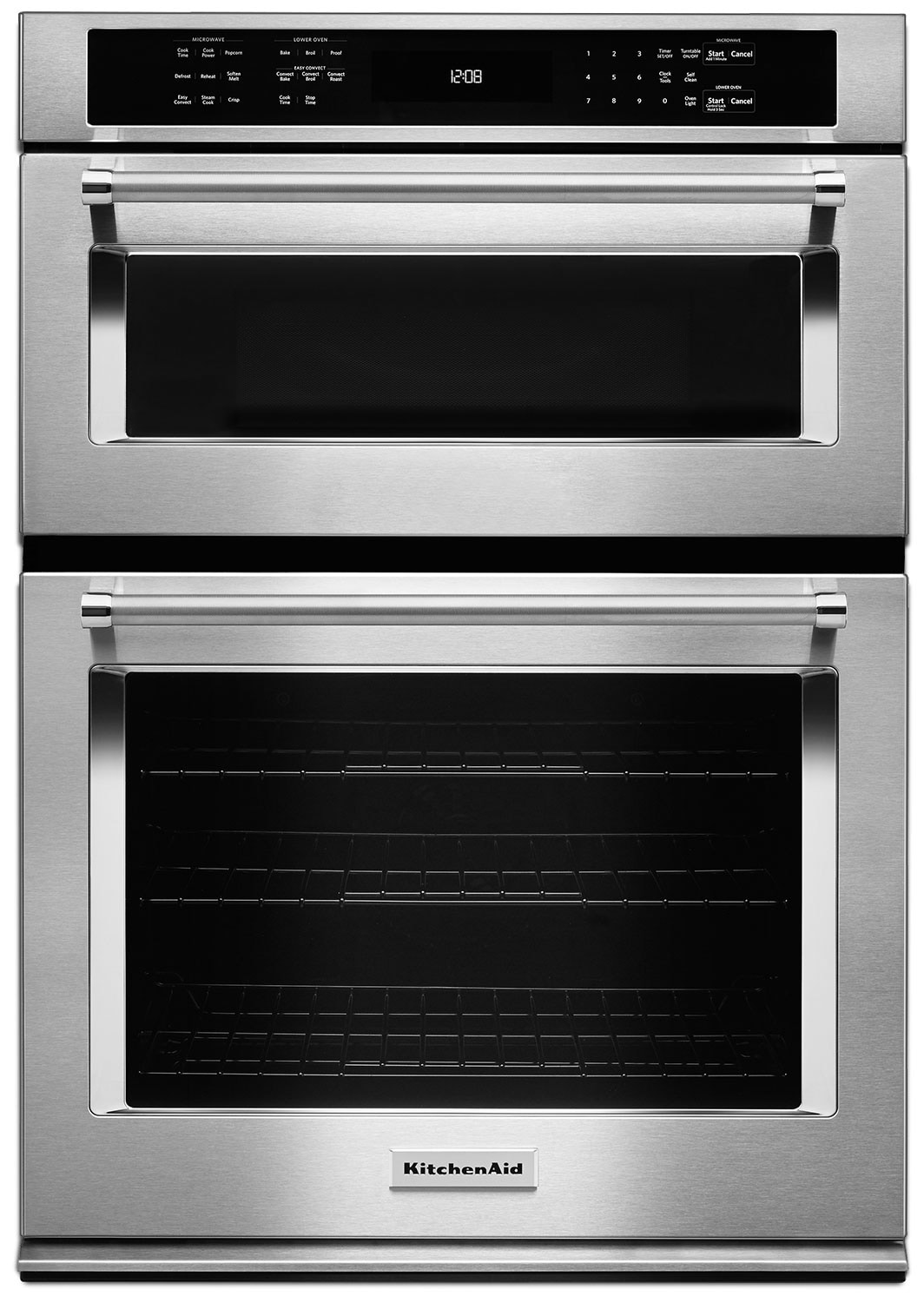 "Cooking Products - KitchenAid 30"" Combination Wall Oven with Even-Heat™ True Convection"