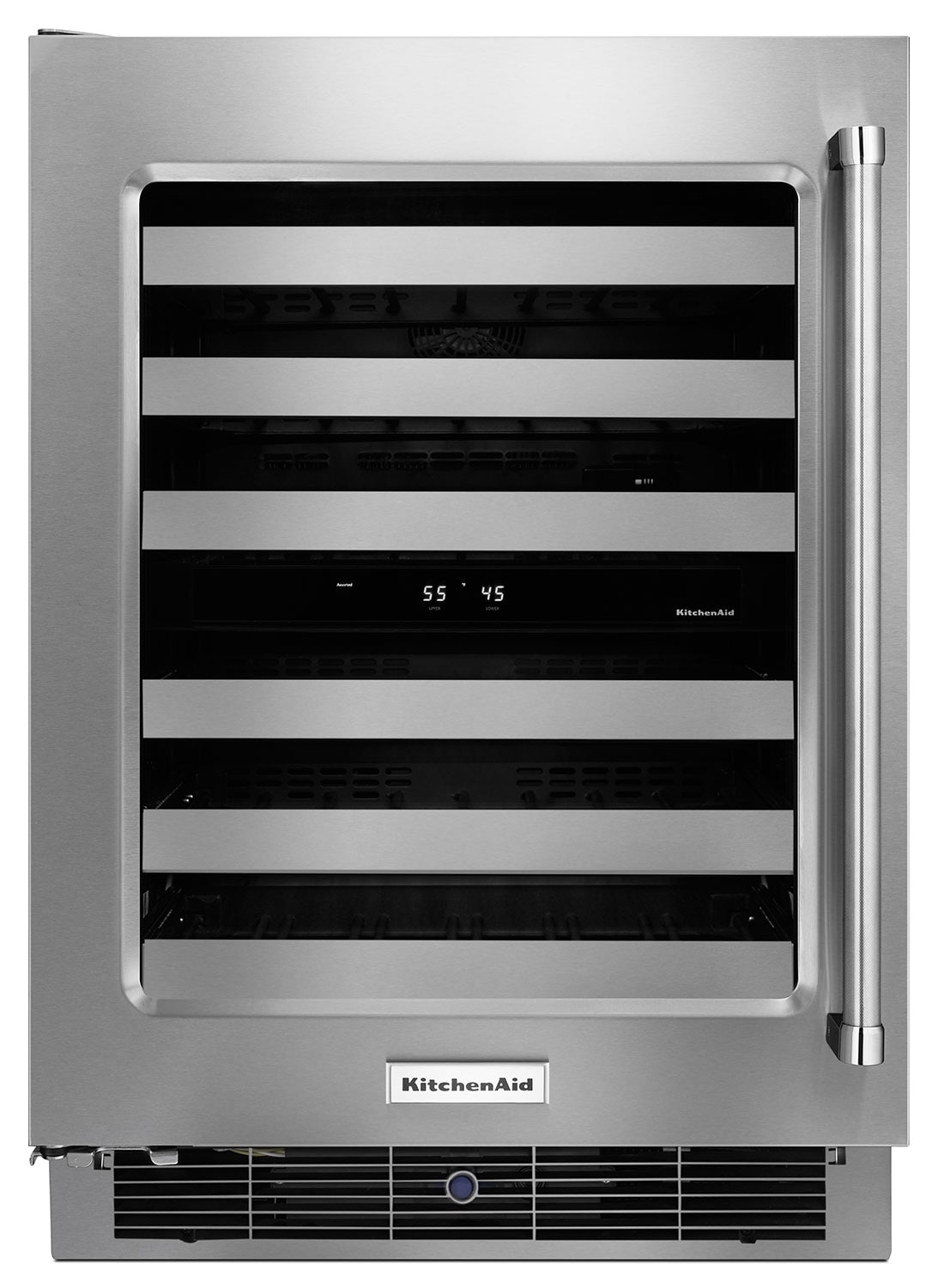 Refrigerators and Freezers - KitchenAid Wine Cooler KUWL304ESS