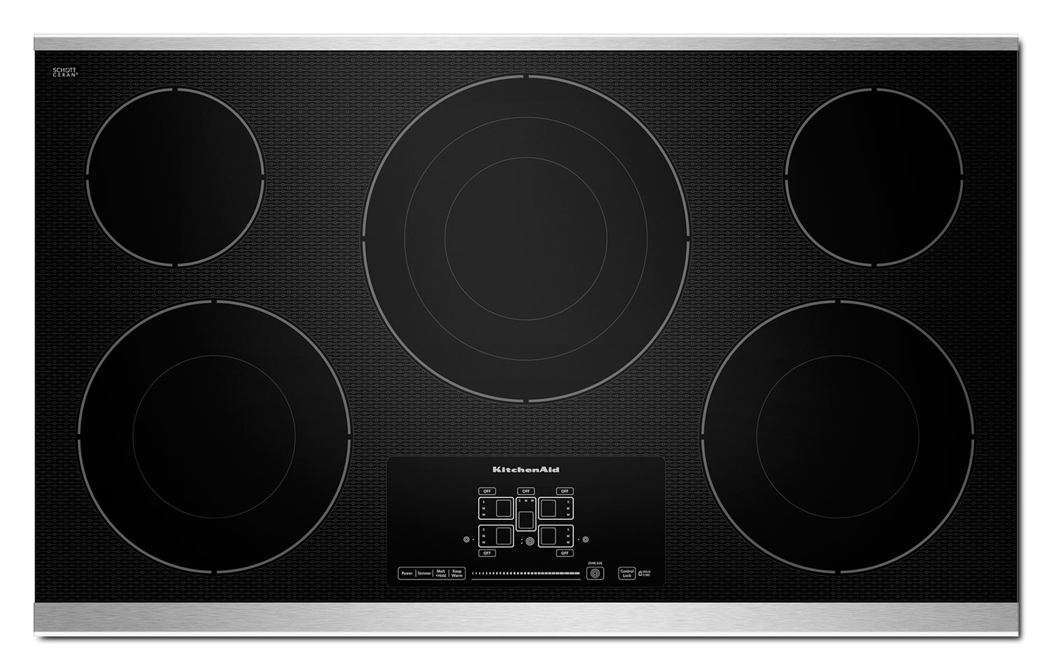 Cooking Products - KitchenAid Electric Cooktop KECC667BSS