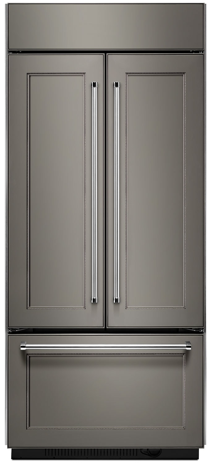 Refrigerators and Freezers - KitchenAid 20.8 Cu. Ft. Built-In French Door Refrigerator - Panel Ready