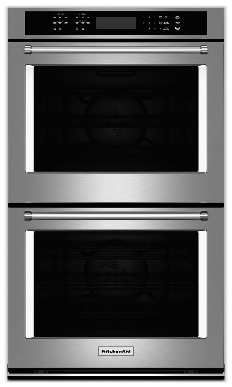 "Cooking Products - KitchenAid 30"" Double Wall Oven – Stainless Steel"