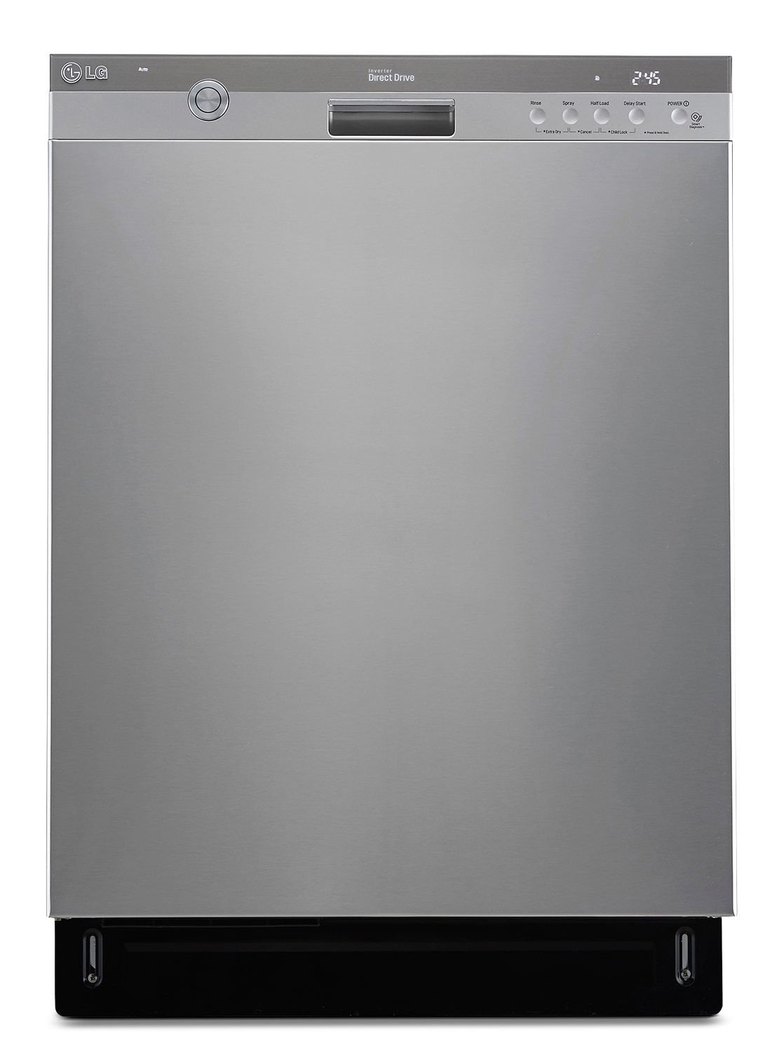 """Clean-Up - LG Appliances Stainless Steel 24"""" Dishwasher - LDS5774ST"""