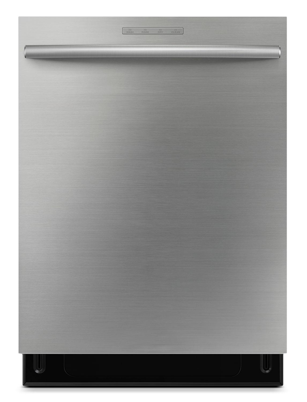 """[Samsung Stainless Steel 24"""" Dishwasher - DW80F800UWS]"""