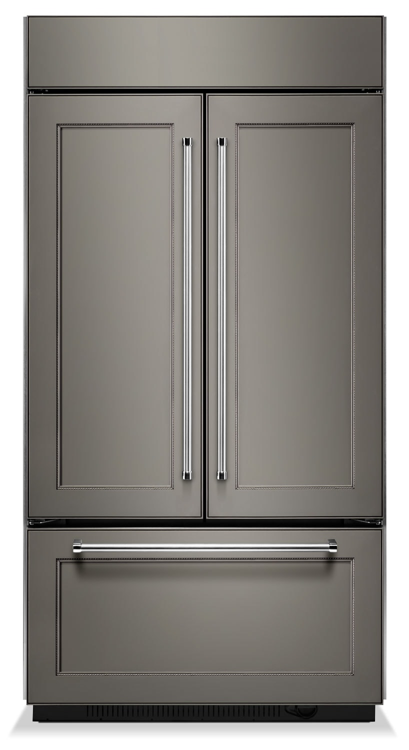 KitchenAid 24.2 Cu. Ft. Built-In French-Door Refrigerator – KBFN402EPA