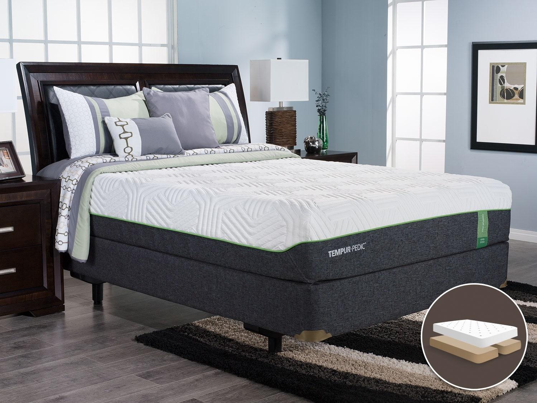 Mattresses and Bedding - TEMPUR-Flex™ Aspen Split Queen Mattress Set