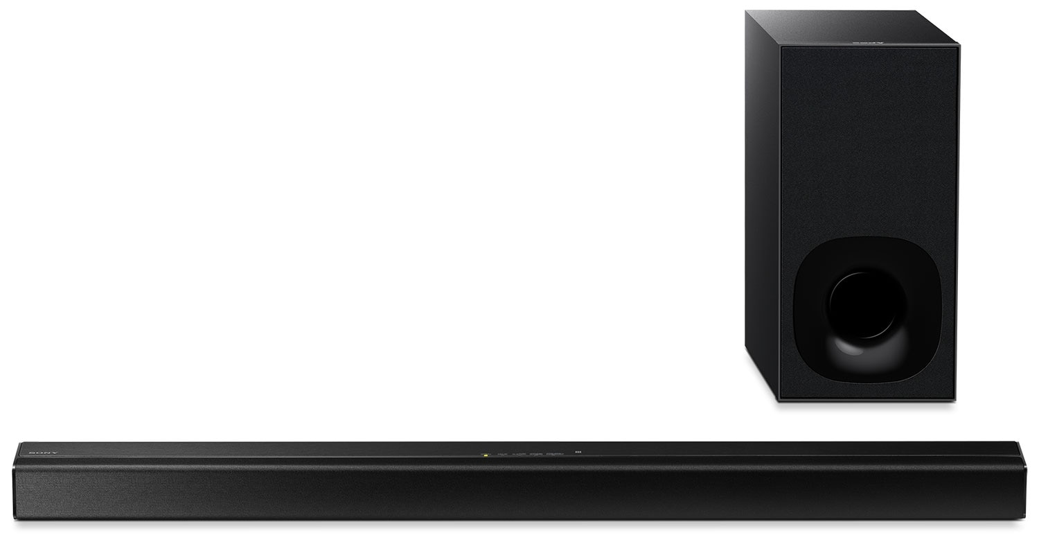 Sony Soundbar and Wireless Subwoofer with Bluetooth® Streaming – 100W