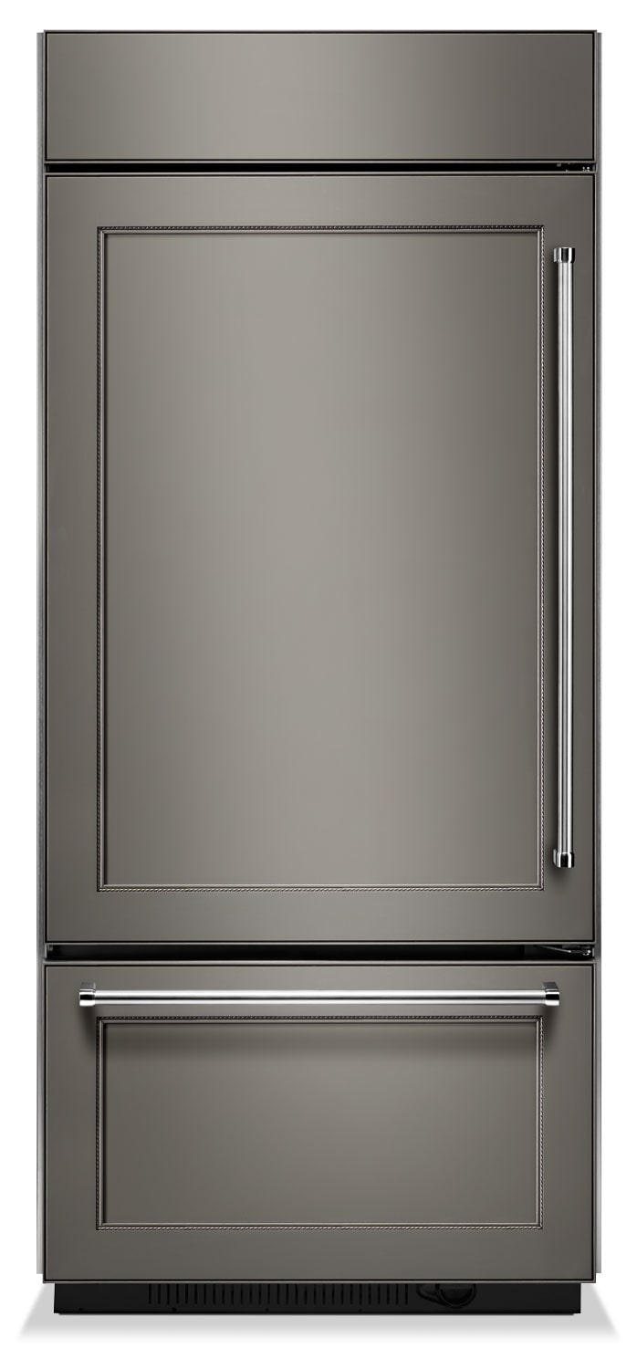 Refrigerators and Freezers - KitchenAid Custom-Panel Refrigerator (20.9 Cu. Ft.) KBBL206EPA