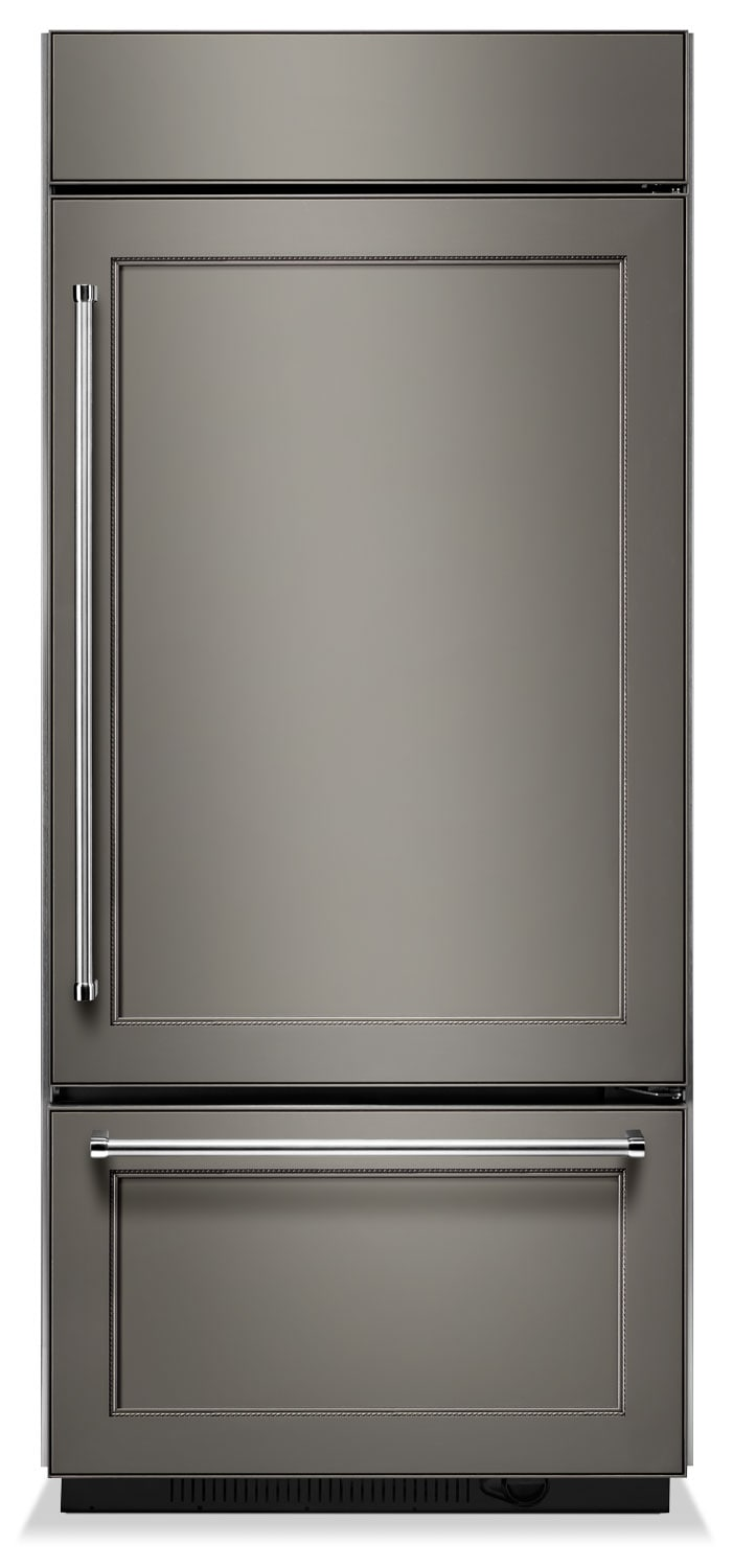 Refrigerators and Freezers - KitchenAid Custom-Panel Refrigerator (20.9 Cu. Ft.) KBBR206EPA
