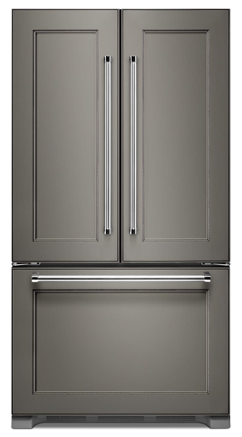 Kitchenaid Custom Panel Ready French Door Refrigerator 20