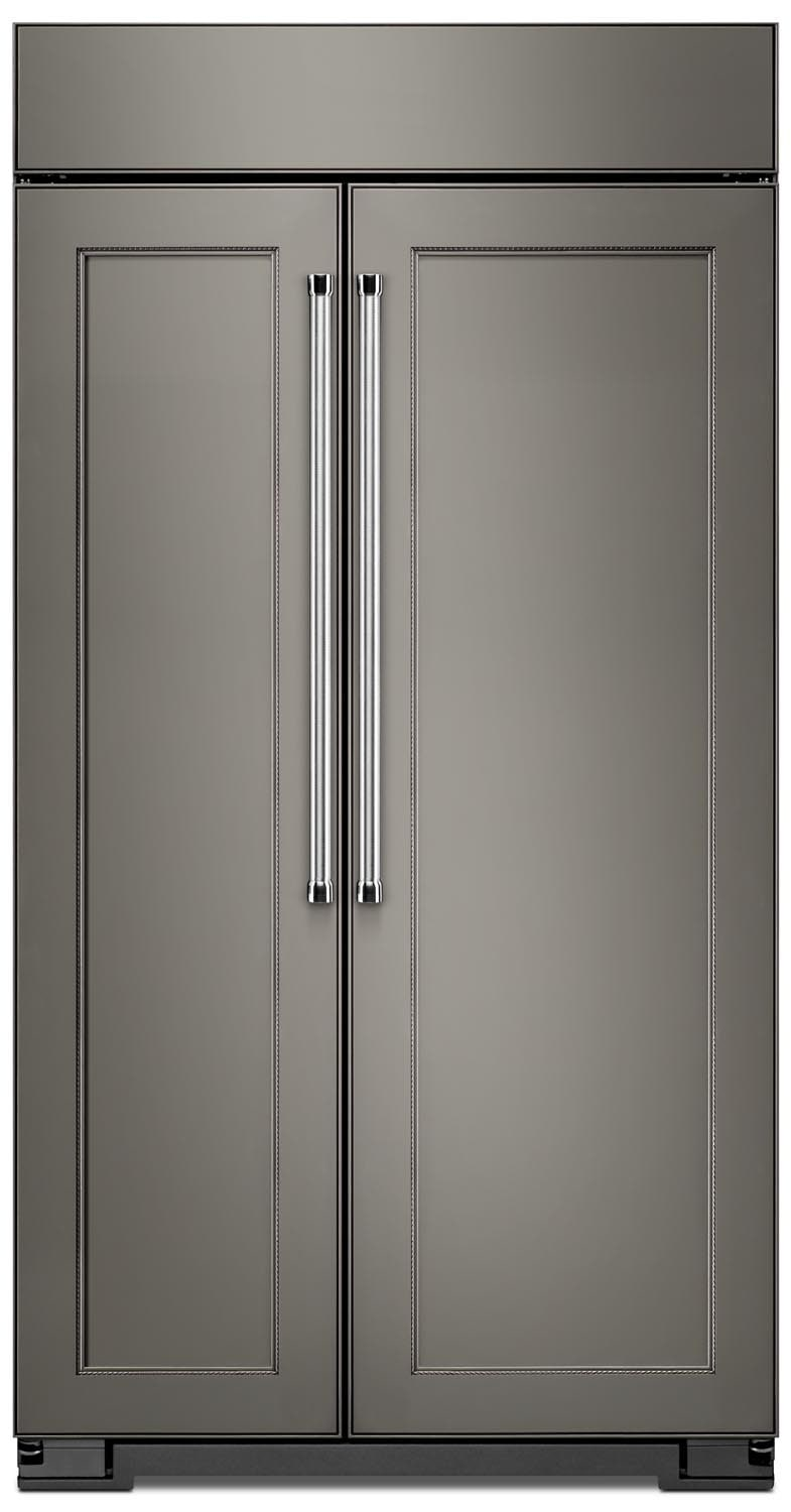 Refrigerators and Freezers - KitchenAid Custom Panel-Ready Refrigerator (25.5 Cu. Ft.) KBSN602EBA