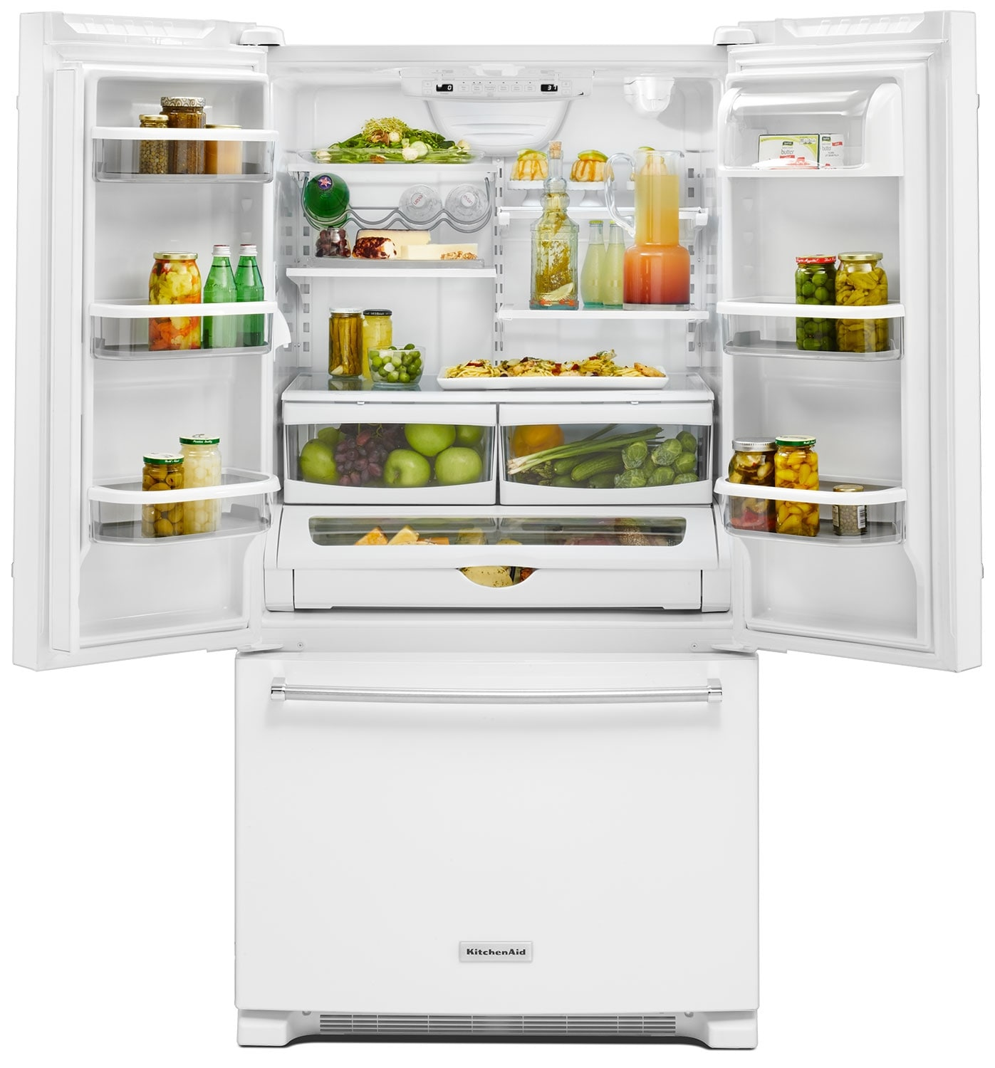 KitchenAid 25 Cu. Ft. French Door Refrigerator With