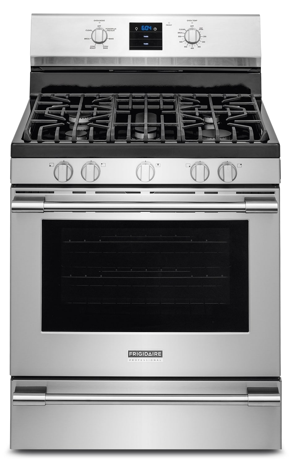 """Frigidaire Professional 30"""" Convection Gas Range - Stainless Steel"""