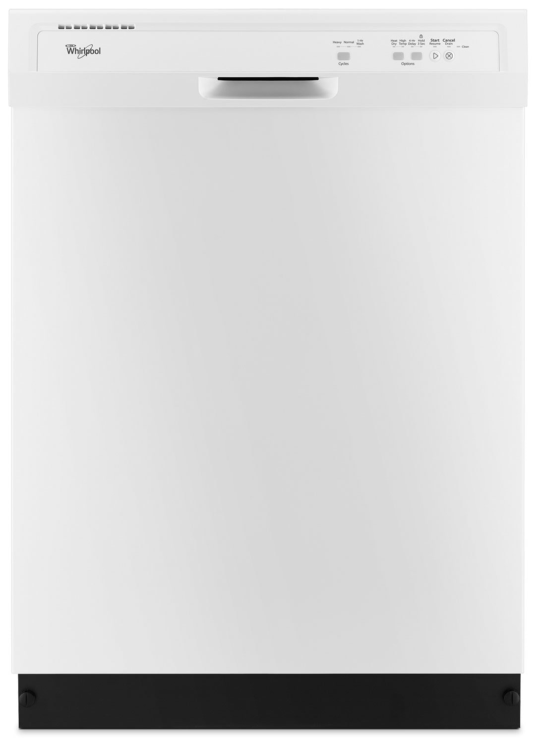 Clean-Up - Whirlpool® Built-In Dishwasher – White