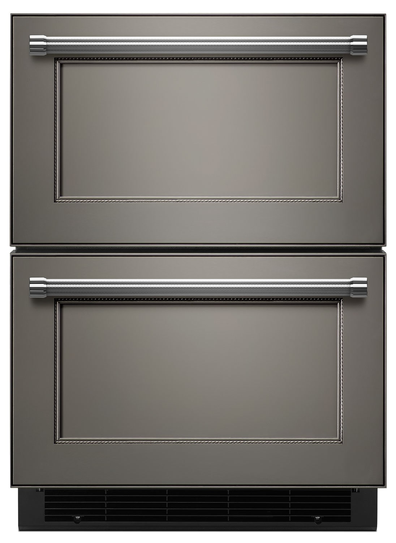Refrigerators and Freezers - KitchenAid Custom Panel-Ready Undercounter Refrigerator KUDR204EPA