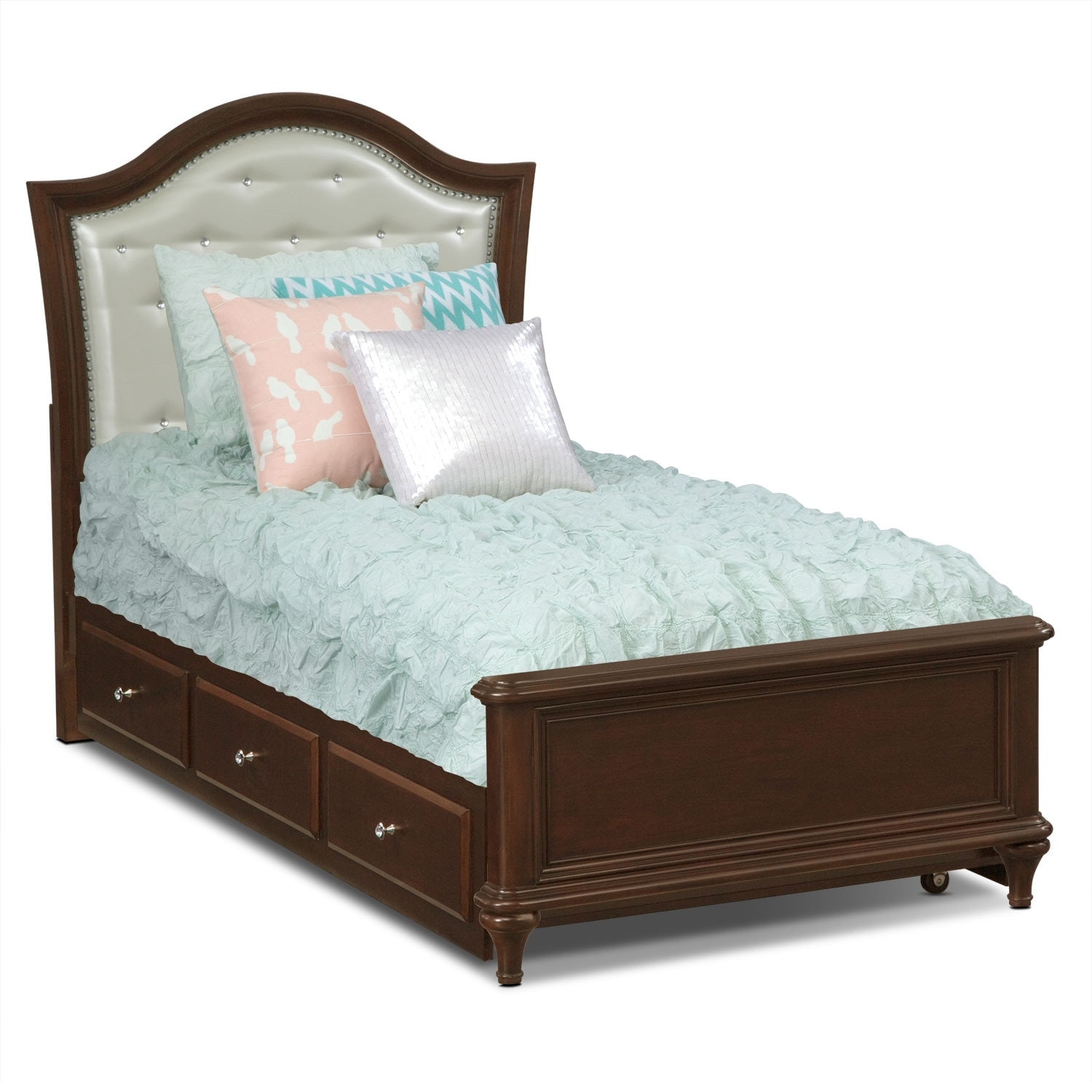 Samantha 7 Pc Twin Bedroom With Trundle