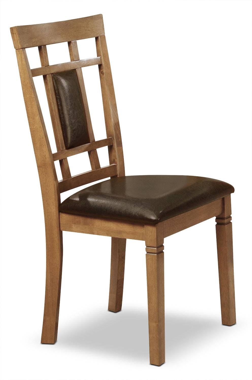Aran Dining Chair – Light Mango
