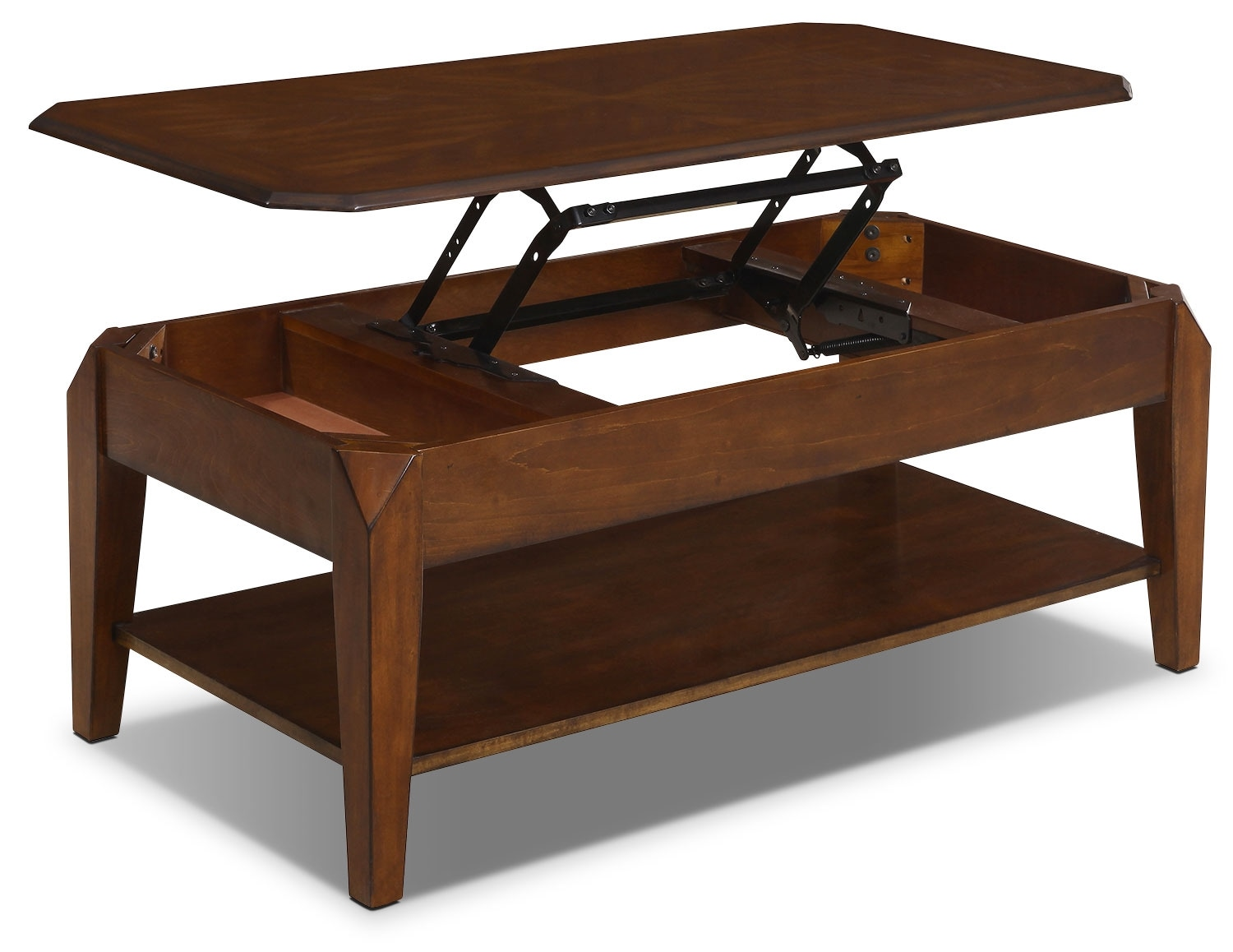 Duntara coffee table with lift top the brick Lifting top coffee table