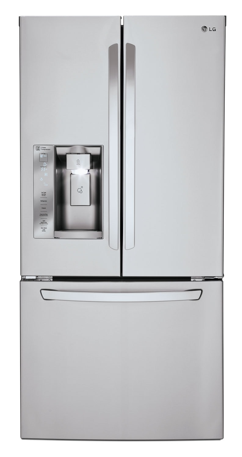 LG Appliances Stainless Steel French Door Refrigerator (24.2 Cu. Ft.) LFXS24623S