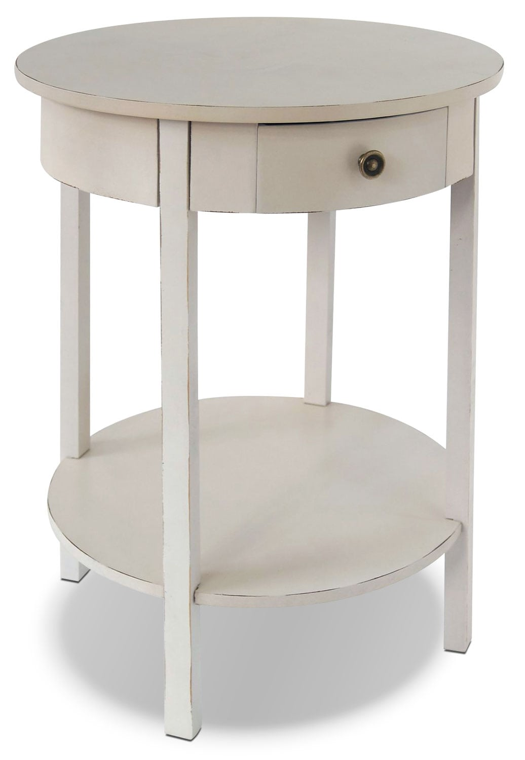 Grafton Accent Table - Antique Ivory
