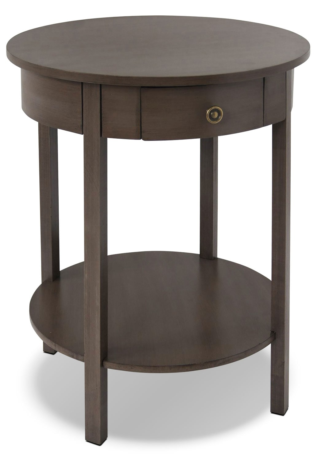 Accent and Occasional Furniture - Grafton Accent Table - Driftwood Grey
