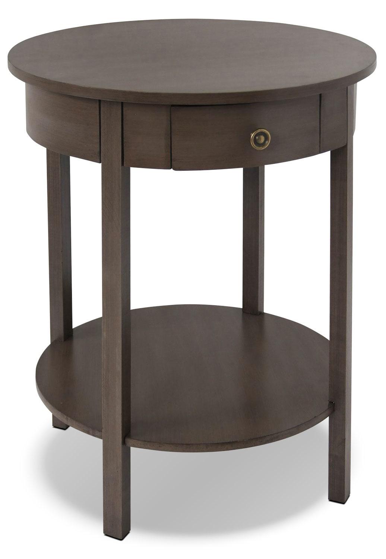 Décoratif et Occasionnel - Table d'appoint Grafton - gris bois de grève