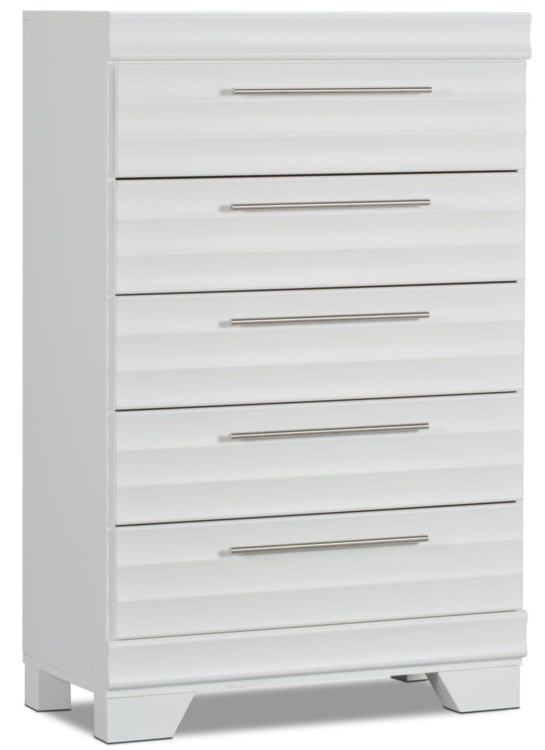 Commode verticale Olivia - blanche
