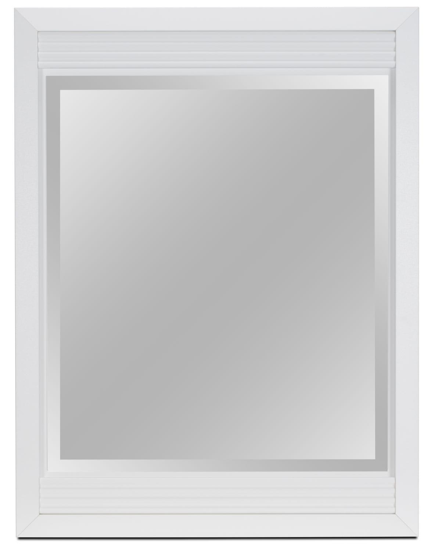 Miroir Olivia - blanc