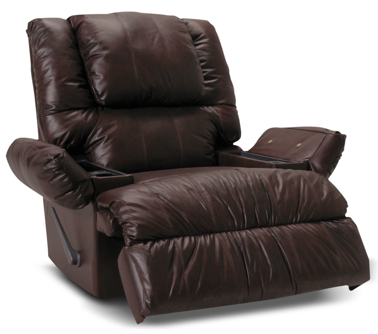 Designed2B Recliner 5598 Bonded Leather Rocker with ...