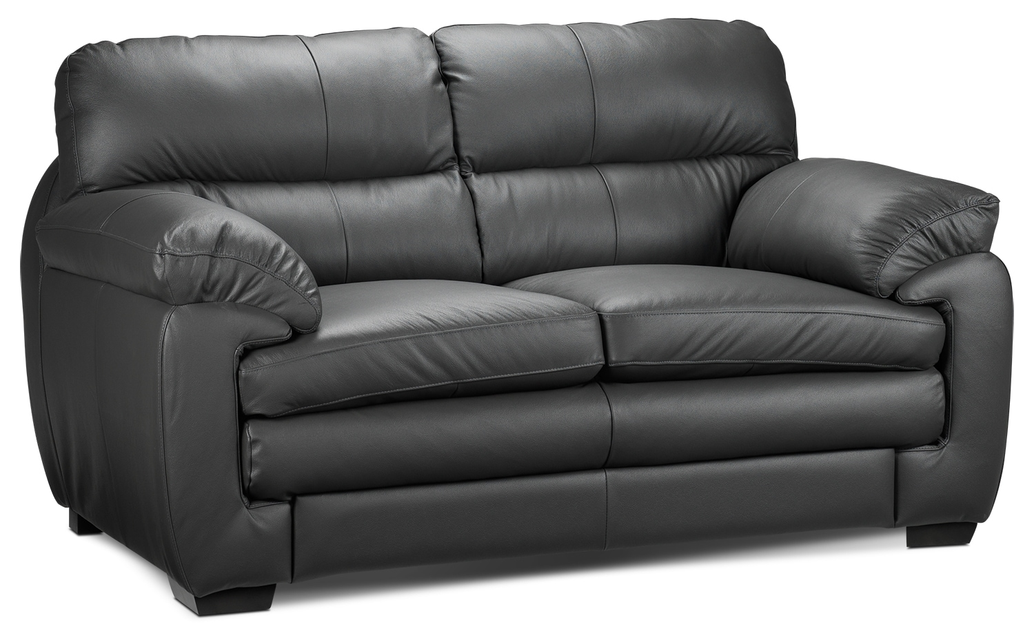 Living Room Furniture - Cambria Loveseat - Grey