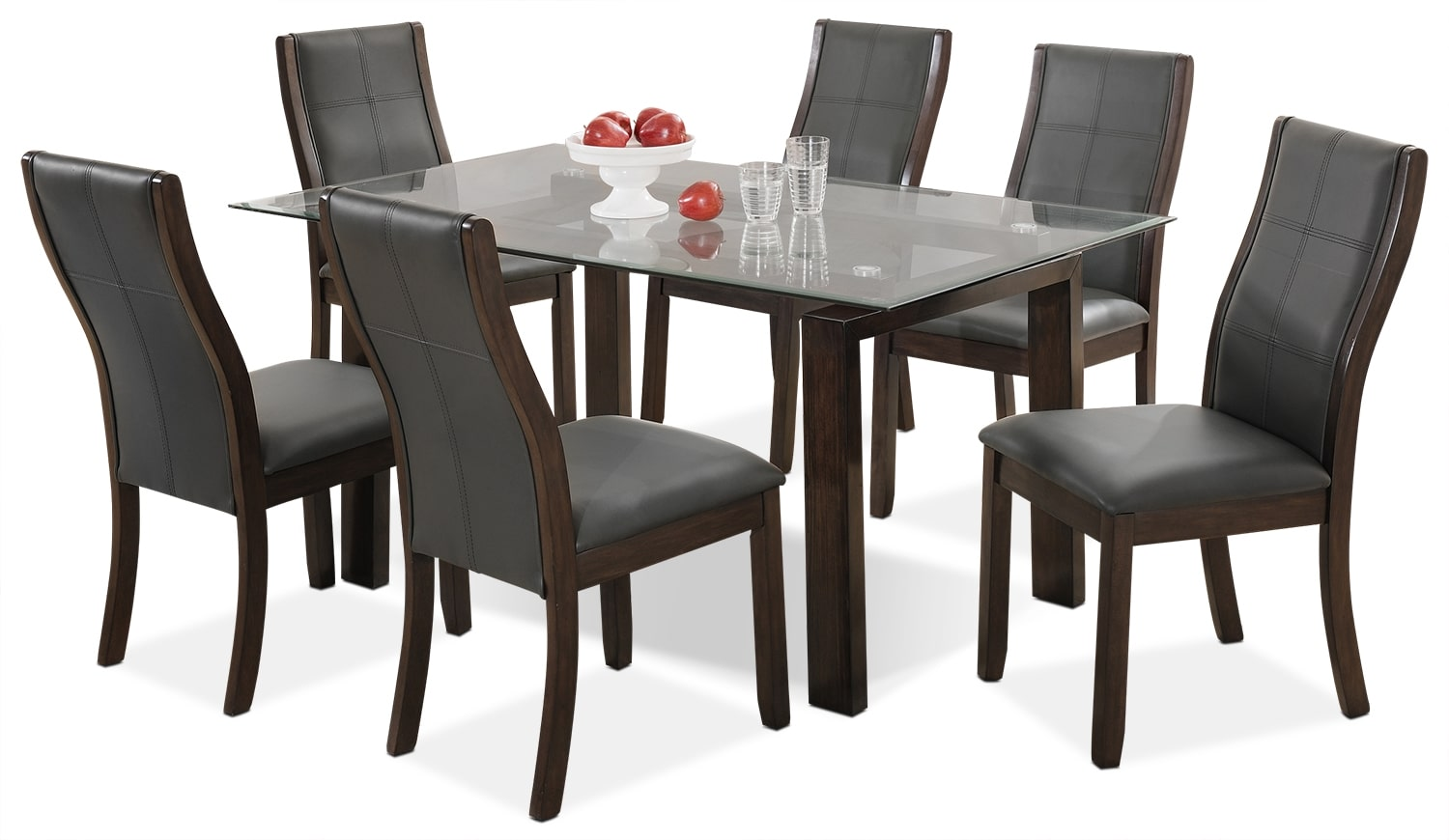 Dining Room Furniture - Tyler 7-Piece Dining Package