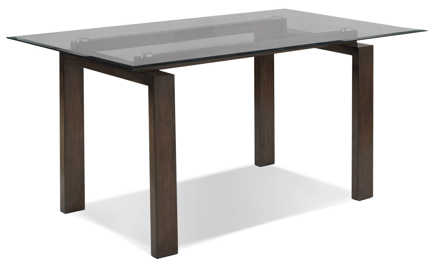 Tyler dining table the brick for Dining table without chairs