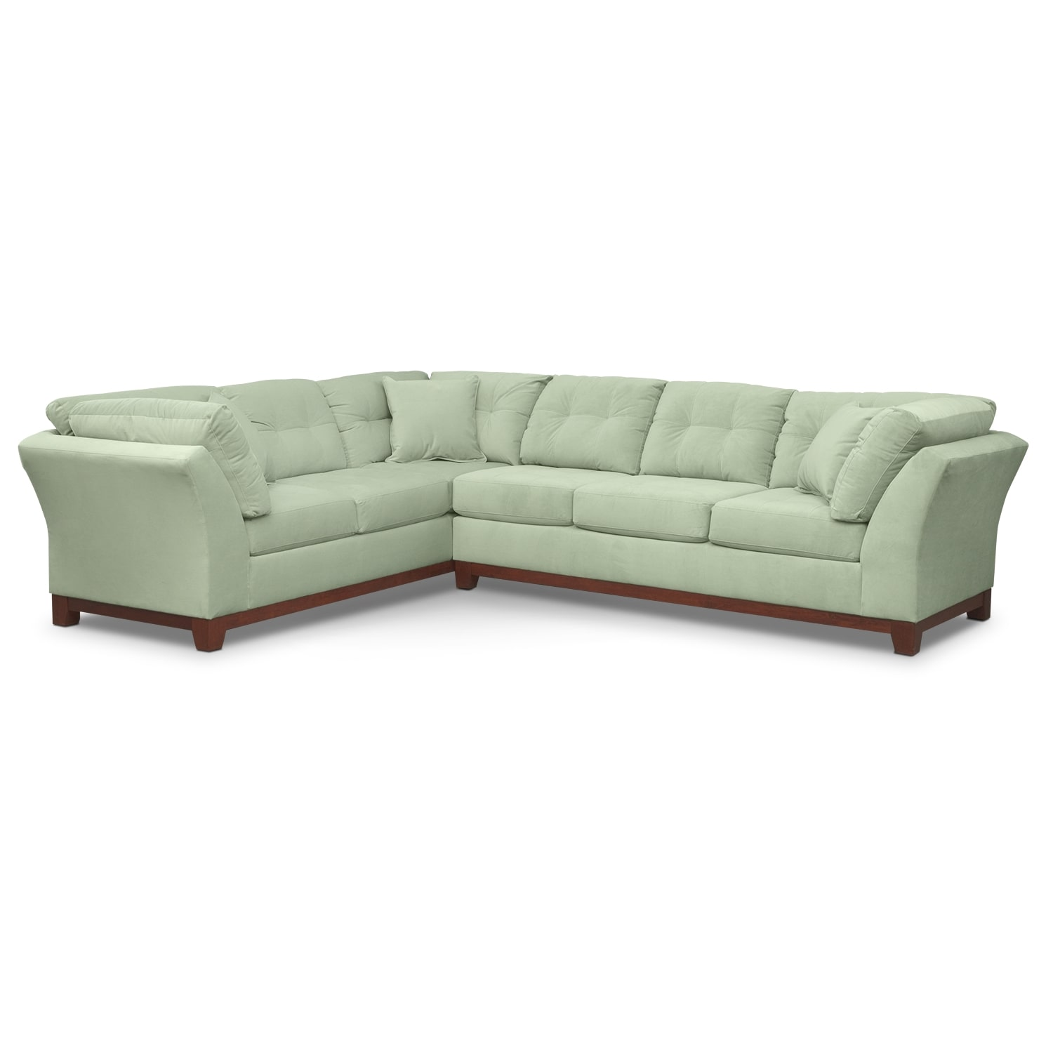 Living Room Furniture - Brookside II Spa 2 Pc. Sectional