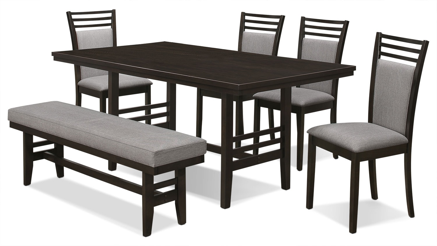 Dining Room Furniture - Metro 6-Piece Dining Package