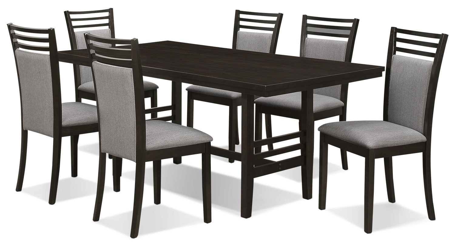 Dining Room Furniture - Metro 7-Piece Dining Package
