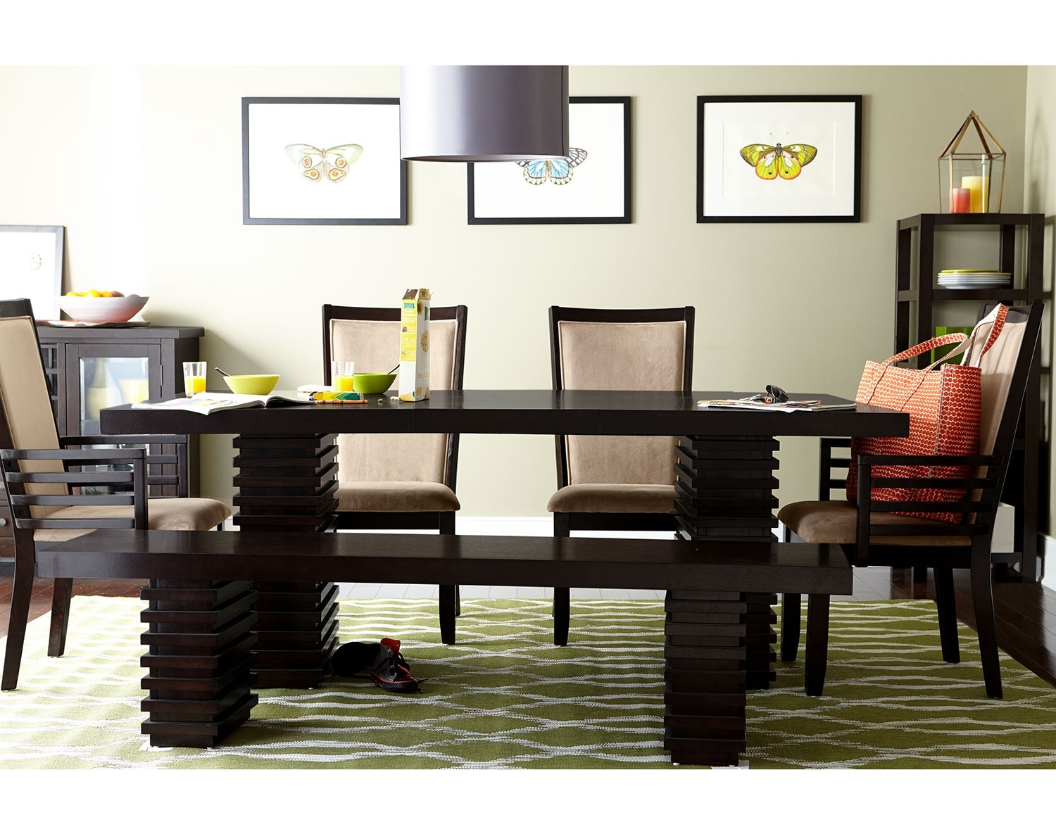 Dining Room Furniture - The Costa Camel Collection - Table