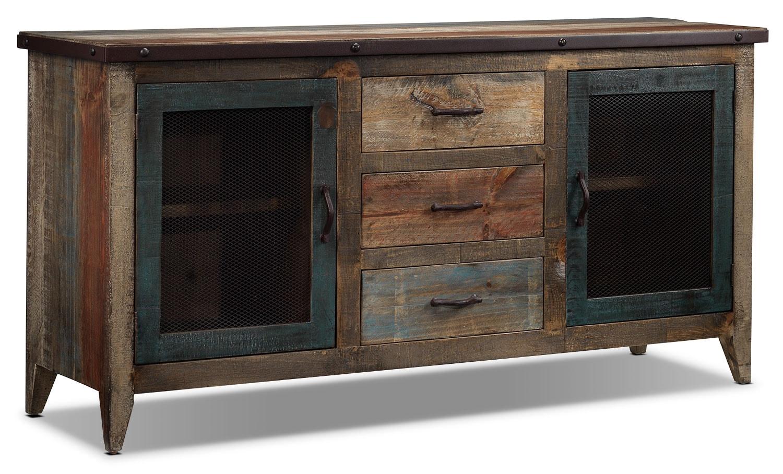Dining Room Furniture - Urban Splendor Server - Rustic Pine