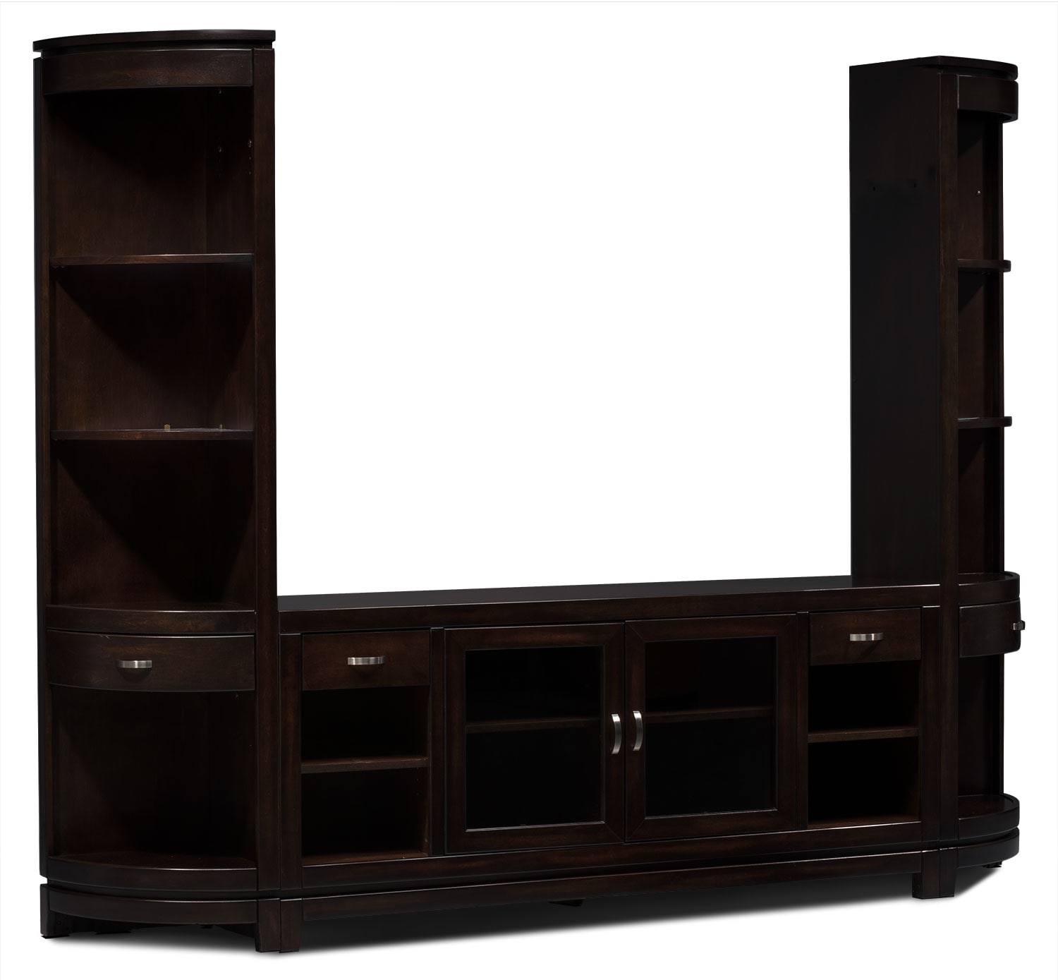 "Entertainment Furniture - Tribeca 3-Piece Entertainment Centre with 66"" TV Opening"