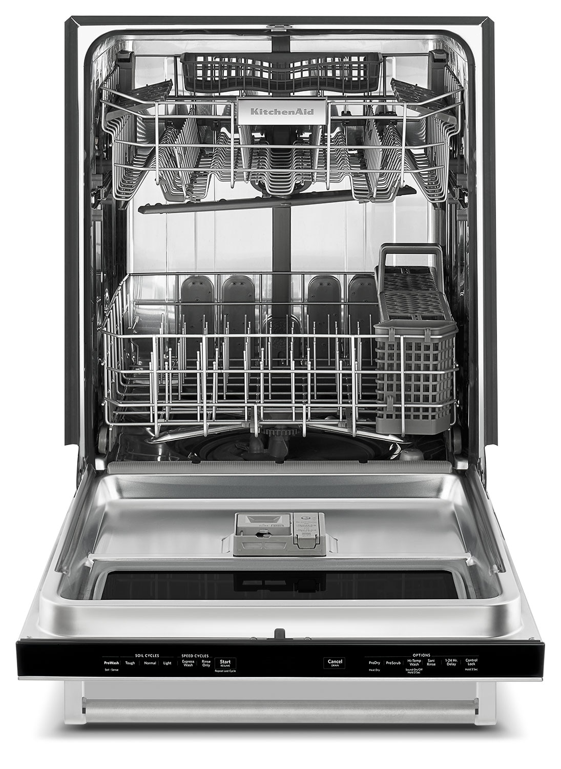 Kitchen Aid Dish Washer With Window  Racks