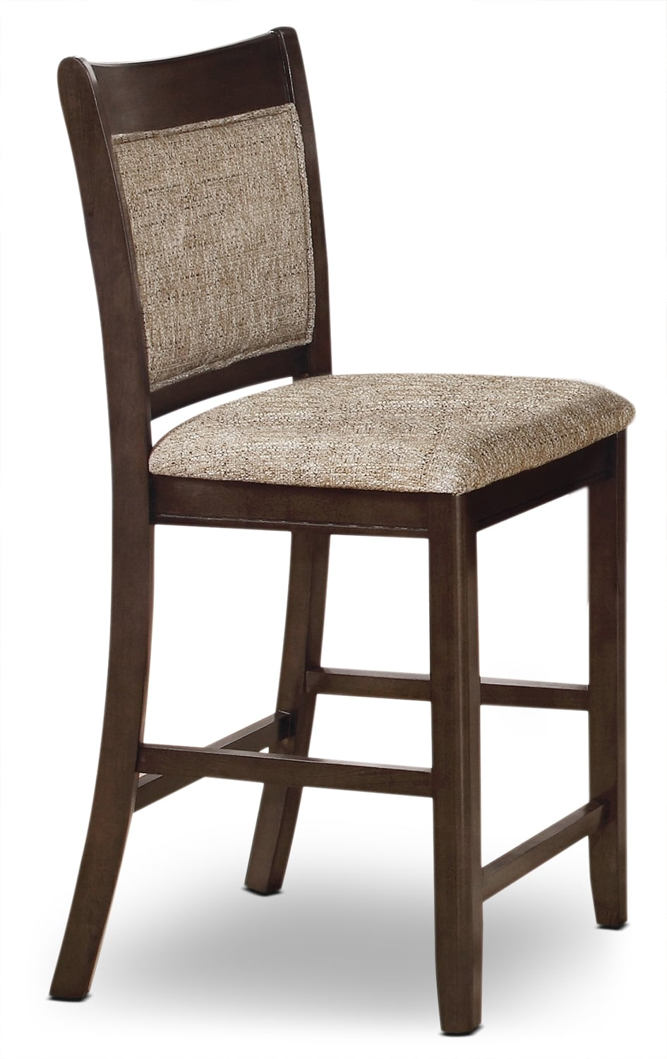 Dining Room Furniture - Adell Counter-Height Dining Chair - Brown-Grey