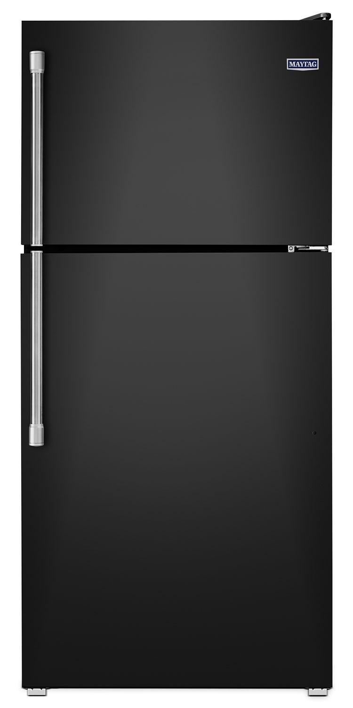 [Maytag Black Top-Freezer Refrigerator (18.2 Cu. Ft.) - MRT318FZDE]