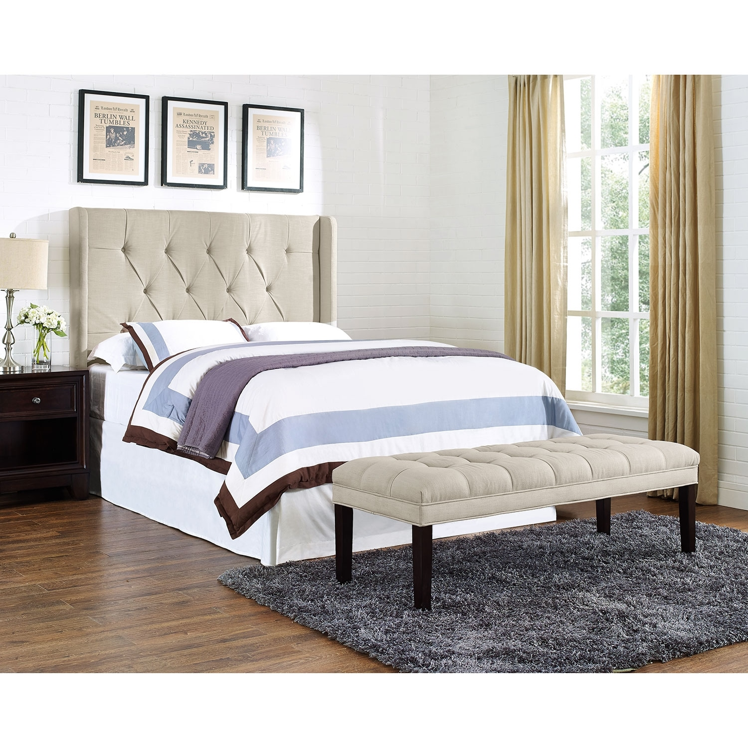 value city headboards winston king california king headboard value city 13709